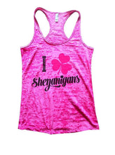 I Shenanigans Burnout Tank Top By Womens Tank Tops Small Womens Tank Tops Shocking Pink
