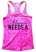Mama Needs A Cocktail Burnout Tank Top By Womens Tank Tops Small Womens Tank Tops Shocking Pink