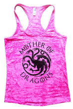 Mother Of Dragons Tank Top By WomensTankTops Small Womens Tank Tops Shocking Pink
