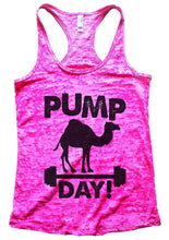 PUMP DAY! Burnout Tank Top By Womens Tank Tops Small Womens Tank Tops Shocking Pink