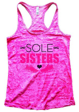 SOLE SISTERS Burnout Tank Top By Womens Tank Tops Small Womens Tank Tops Shocking Pink