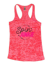 Spin JUNKIE Burnout Tank Top By Womens Tank Tops Small Womens Tank Tops Shocking Pink