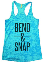 BEND & SNAP Burnout Tank Top By Womens Tank Tops Small Womens Tank Tops Tahiti Blue