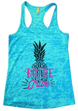 BRIDE Tribe Burnout Tank Top By Womens Tank Tops Small Womens Tank Tops Tahiti Blue