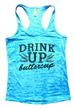 DRINK UP Buttercup Burnout Tank Top By Womens Tank Tops Small Womens Tank Tops Tahiti Blue