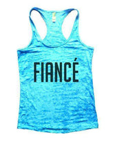 Fiance Burnout Tank Top By Womens Tank Tops Small Womens Tank Tops Tahiti Blue