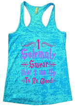 I Solemnly Swear That I Am Up To No Good Burnout Tank Top By Womens Tank Tops Small Womens Tank Tops Tahiti Blue