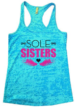 SOLE SISTERS Burnout Tank Top By Womens Tank Tops Small Womens Tank Tops Tahiti Blue