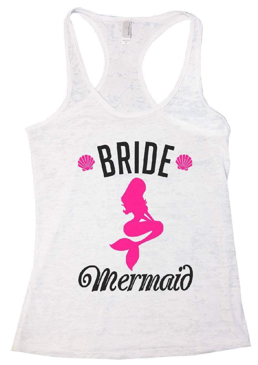 BRIDE Mermaid Burnout Tank Top By Womens Tank Tops Small Womens Tank Tops White