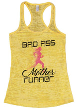 BAD ASS Mother Runner Burnout Tank Top By Womens Tank Tops Small Womens Tank Tops Yellow
