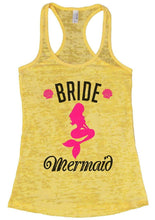 BRIDE Mermaid Burnout Tank Top By Womens Tank Tops Small Womens Tank Tops Yellow