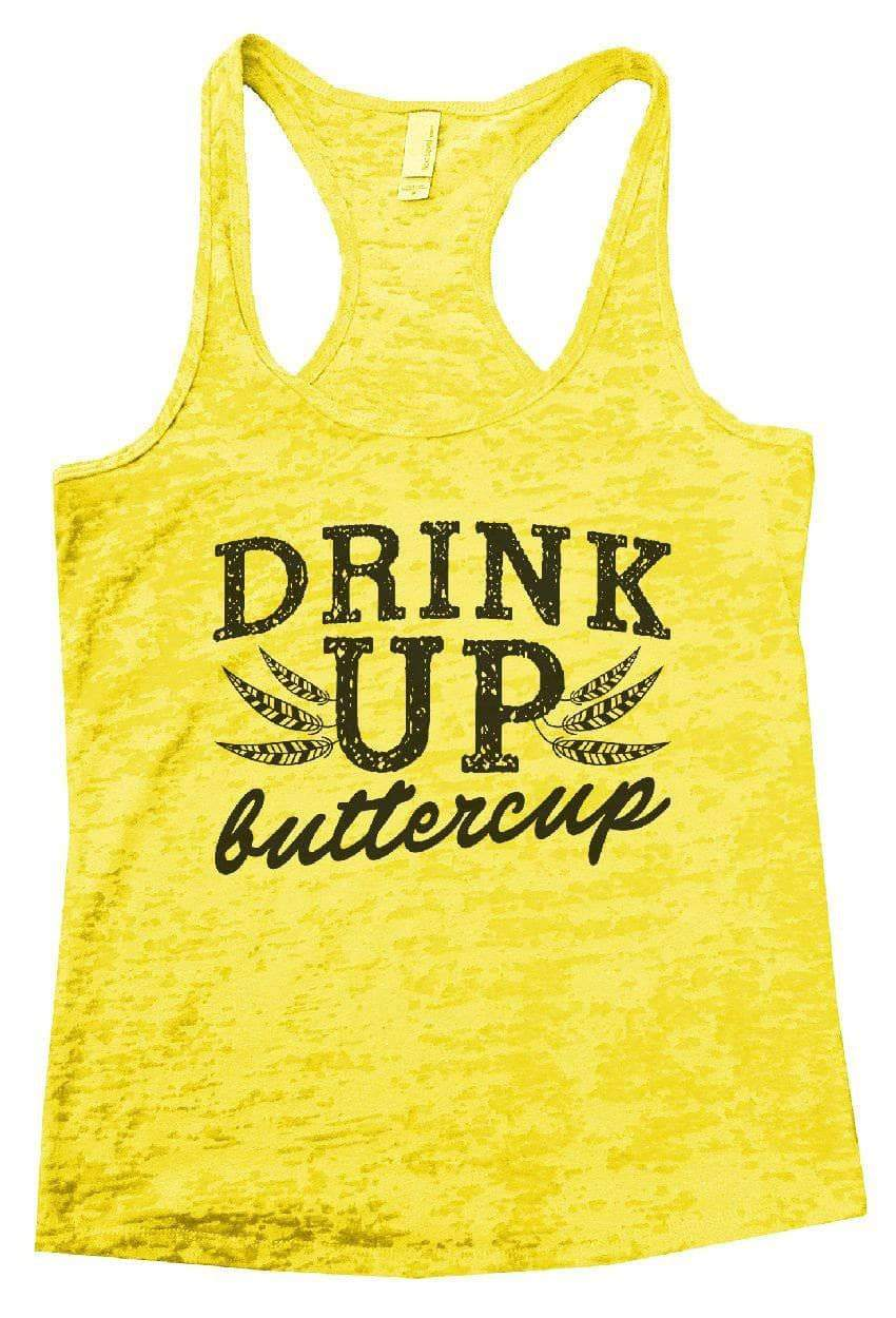DRINK UP Buttercup Burnout Tank Top By Womens Tank Tops Small Womens Tank Tops Yellow