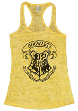 HOGWARTS Burnout Tank Top By Womens Tank Tops Small Womens Tank Tops Yellow