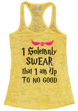 I Solemnly SWEAR That I Am Up To No Good Burnout Tank Top By Womens Tank Tops Small Womens Tank Tops Yellow