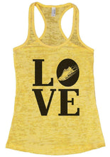 LOVE Burnout Tank Top By Womens Tank Tops Small Womens Tank Tops Yellow