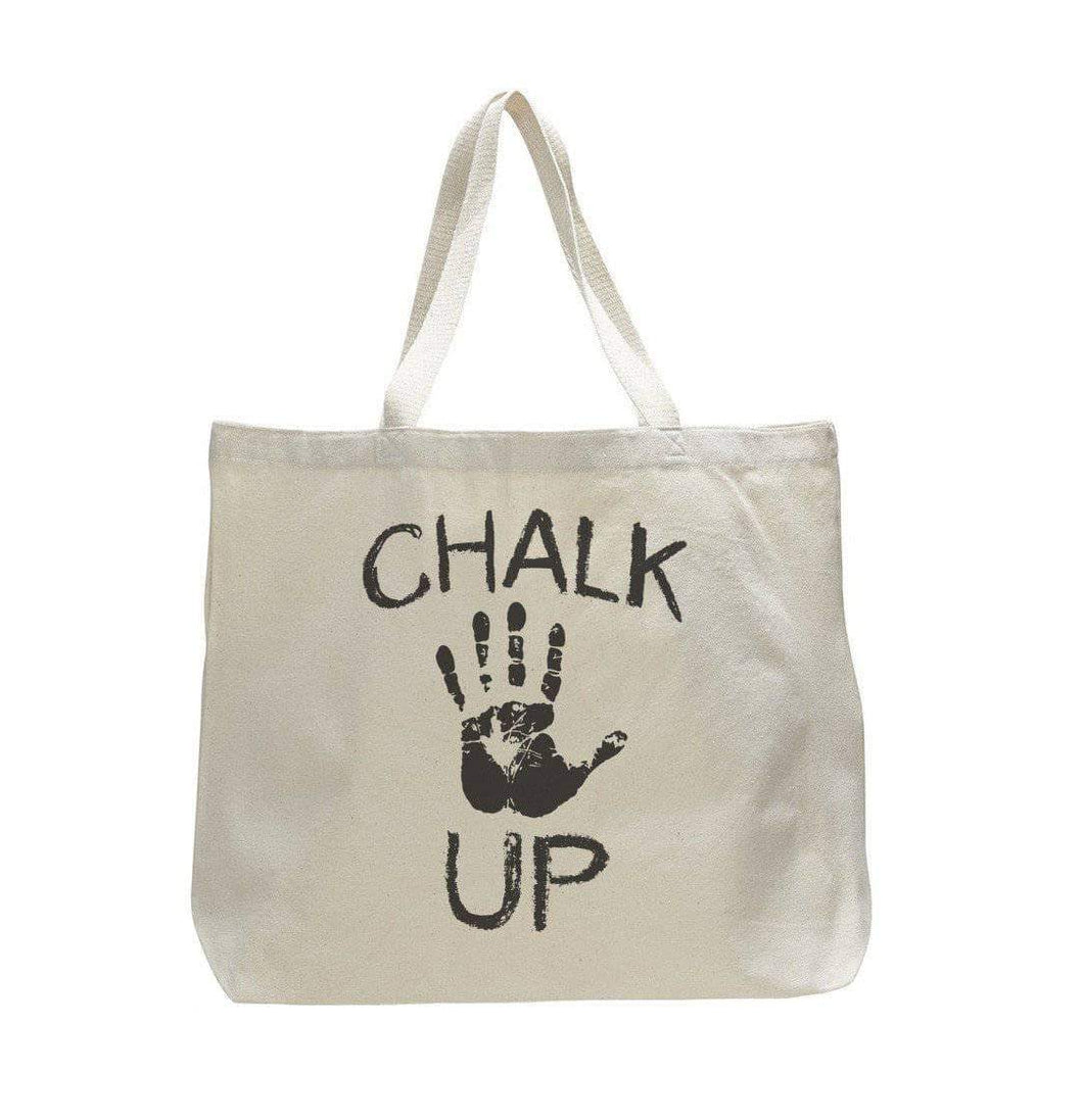 Chalk Up - Trendy Natural Canvas Bag - Funny and Unique - Tote Bag  Womens Tank Tops