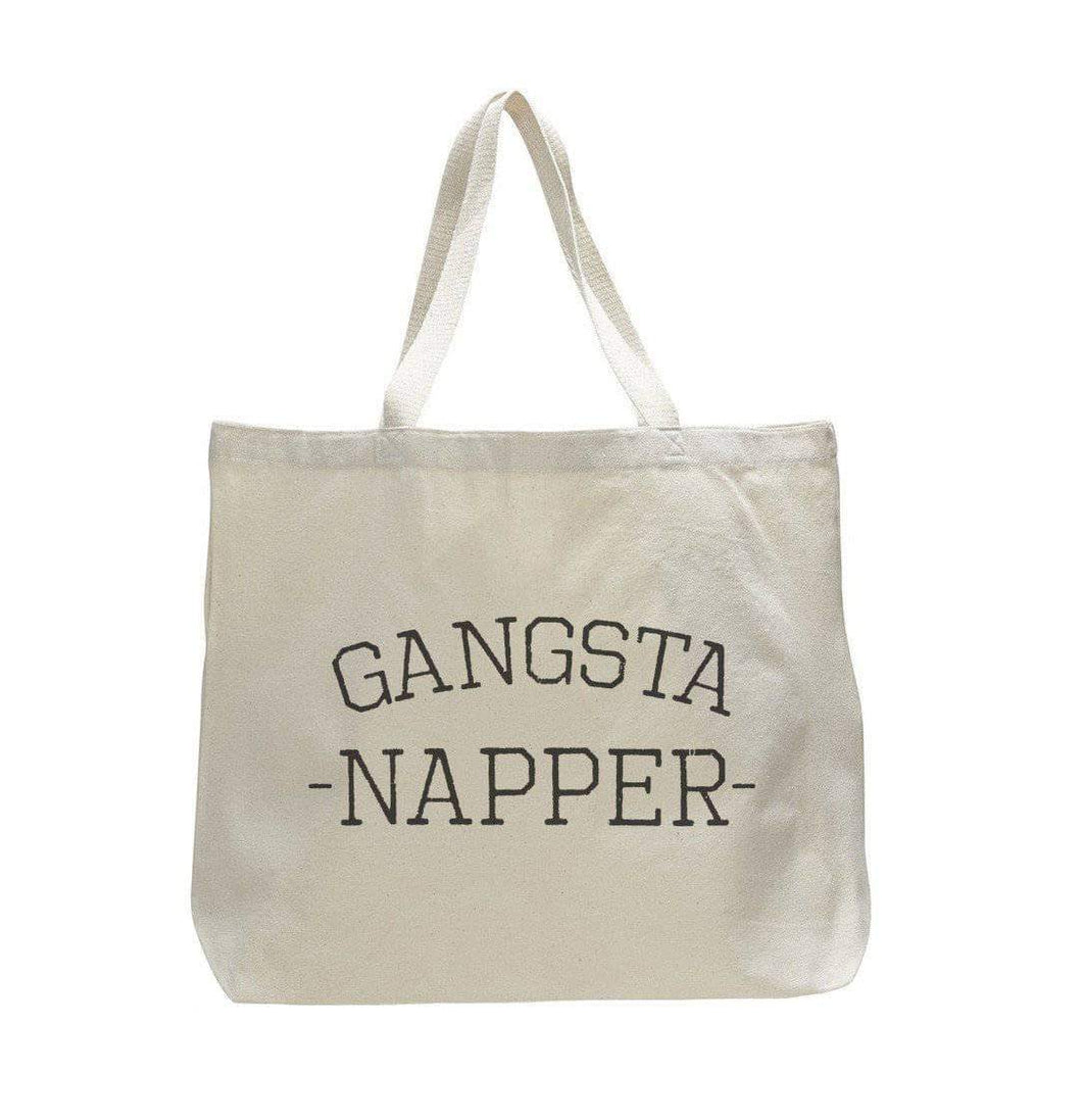 Gangsta Napper - Trendy Natural Canvas Bag - Funny and Unique - Tote Bag  Womens Tank Tops