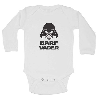 Barf Vader FUNNY KIDS ONESIE Long Sleeve 0-3 Months Womens Tank Tops