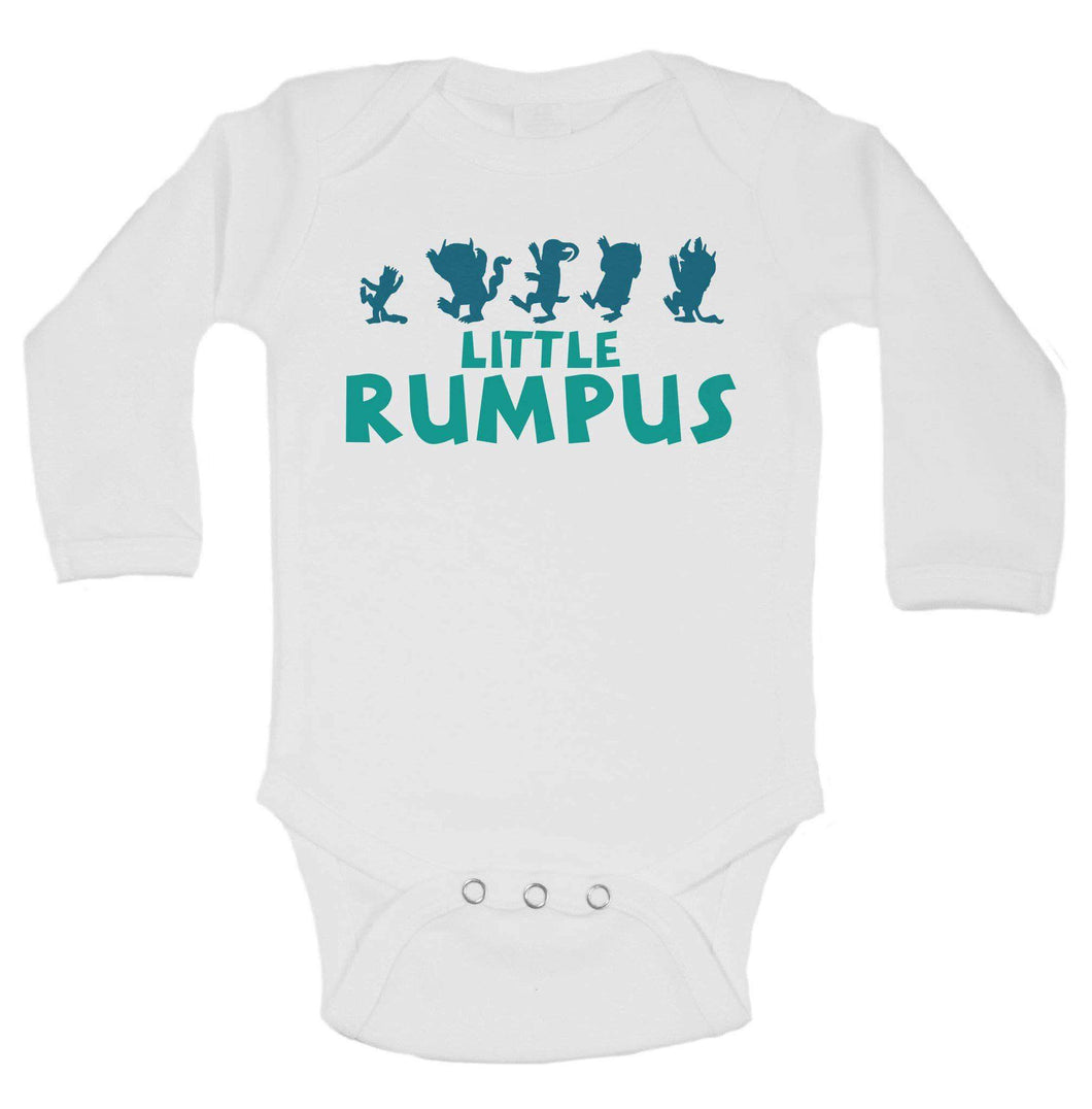 Little Rumpus Funny Kids Onesie Long Sleeve 0-3 Months Womens Tank Tops