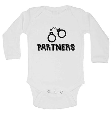 Partners FUNNY KIDS ONESIE Long Sleeve 0-3 Months Womens Tank Tops
