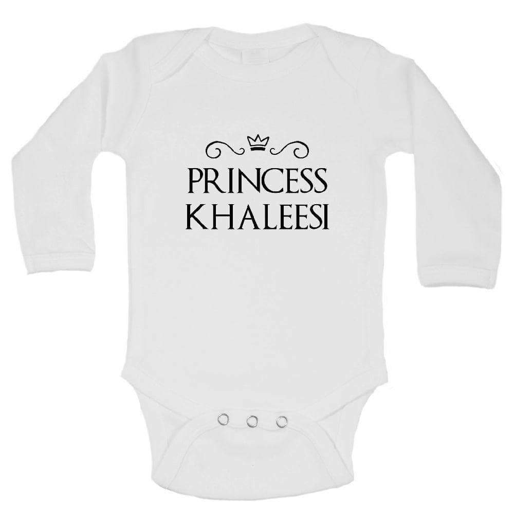 Princess Khaleesi FUNNY KIDS ONESIE Long Sleeve 0-3 Months Womens Tank Tops
