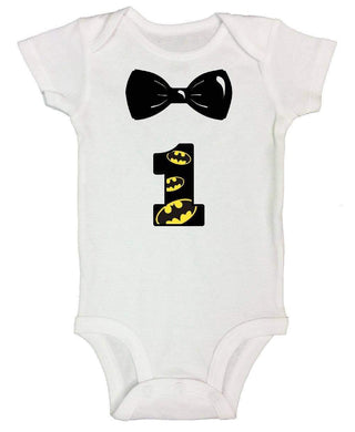 1st Bat Baby FUNNY KIDS ONESIE Short Sleeve 0-3 Months Womens Tank Tops