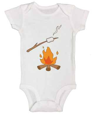 Fire FUNNY KIDS ONESIE Short Sleeve 0-3 Months Womens Tank Tops