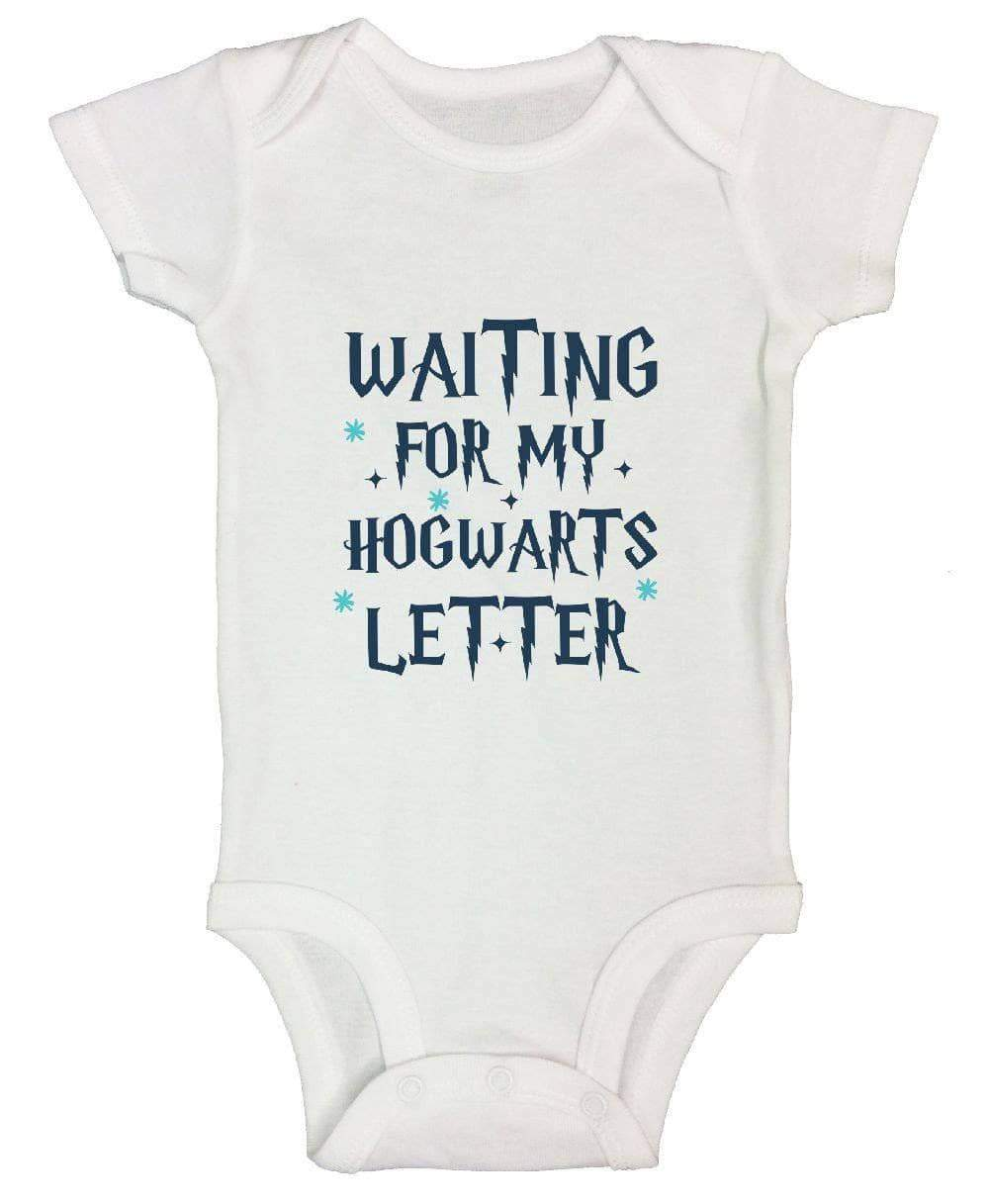 Waiting For My Hogwarts Letter FUNNY KIDS ONESIE Short Sleeve 0-3 Months Womens Tank Tops