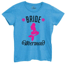 Womens Bride's Mermaid Tshirt Small Womens Tank Tops Blue Tshirt