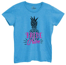Womens Bride Tribe Pineapple Tshirt Small Womens Tank Tops Blue Tshirt