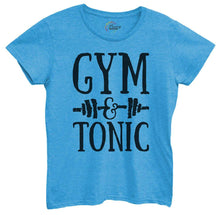 Womens Gym And Tonic Tshirt Small Womens Tank Tops Blue Tshirt