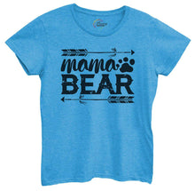 Womens Mama Bear Tshirt Small Womens Tank Tops Blue Tshirt