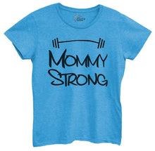 Womens Mommy Strong Tshirt Small Womens Tank Tops Blue Tshirt