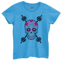 Womens Skull Tshirt Small Womens Tank Tops Blue Tshirt