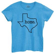 Womens Texas Home Tshirt Small Womens Tank Tops Blue Tshirt