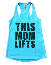 THIS MOM LIFTS Womens Workout Tank Top Small Womens Tank Tops Cancun Blue