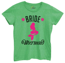 Womens Bride's Mermaid Tshirt Small Womens Tank Tops Green Tshirt