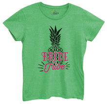 Womens Bride Tribe Pineapple Tshirt Small Womens Tank Tops Green Tshirt