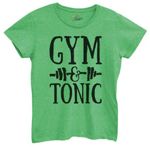 Womens Gym And Tonic Tshirt Small Womens Tank Tops Green Tshirt