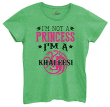 Womens I'm Not A Princess I'm A Khaleesi Tshirt Small Womens Tank Tops Green Tshirt