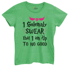 Womens I Solemnly Swear That I Am Up To No Good Tshirt Small Womens Tank Tops Green Tshirt