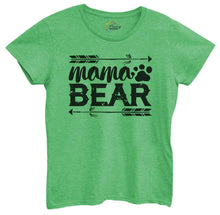 Womens Mama Bear Tshirt Small Womens Tank Tops Green Tshirt