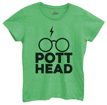 Womens Pott Head Tshirt Small Womens Tank Tops Green Tshirt