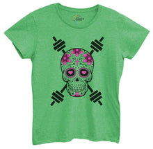 Womens Skull Tshirt Small Womens Tank Tops Green Tshirt