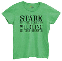 Womens Stark In The Streets Wildling In The Sheets Tshirt Small Womens Tank Tops Green Tshirt
