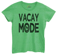 Womens Vacay Mode Tshirt Small Womens Tank Tops Green Tshirt