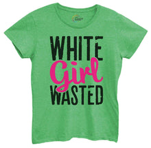 Womens White Girl Wasted Tshirt Small Womens Tank Tops Green Tshirt