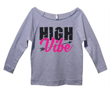 High Vibe Womens 3/4 Long Sleeve Vintage Raw Edge Shirt Small Womens Tank Tops Grey