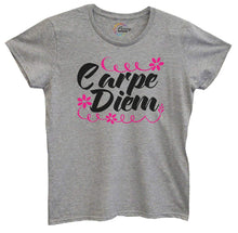 Womens Carpe Diem Tshirt Small Womens Tank Tops Grey Tshirt