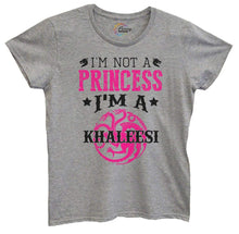 Womens I'm Not A Princess I'm A Khaleesi Tshirt Small Womens Tank Tops Grey Tshirt